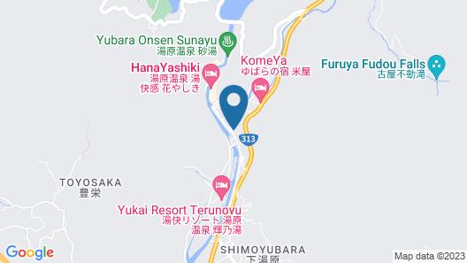 OYO Ryokan SPA YUBARA Okayama Yubaraonsen Map