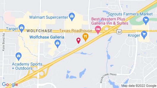 Holiday Inn Hotel & Suites Memphis - Wolfchase Galleria Map