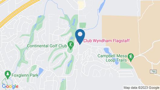 Wyndham Flagstaff Resort Map