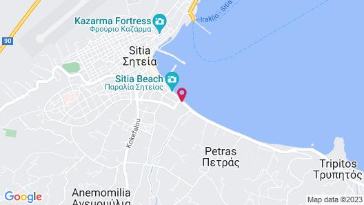 Sitia Beach City Resort & Spa Map