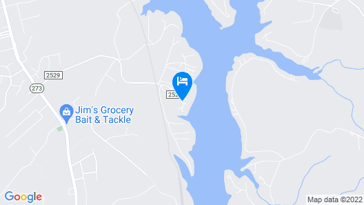 The Villa At Waters Edge Map