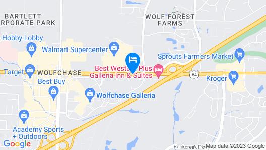 Fairfield Inn & Suites by Marriott Memphis East/Galleria Map
