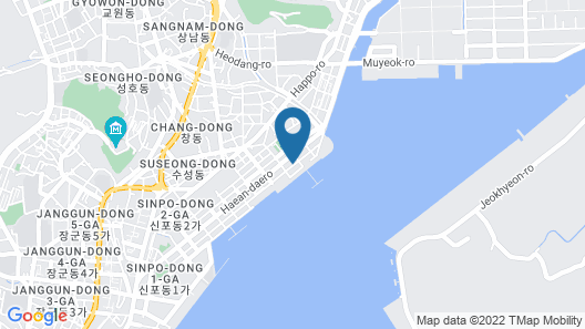 Browndot Hotel Masan Odong Map