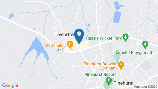 Homewood Suites by Hilton Olmsted Village Map