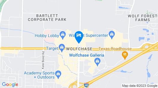 Hampton Inn & Suites Memphis-Wolfchase Galleria Map