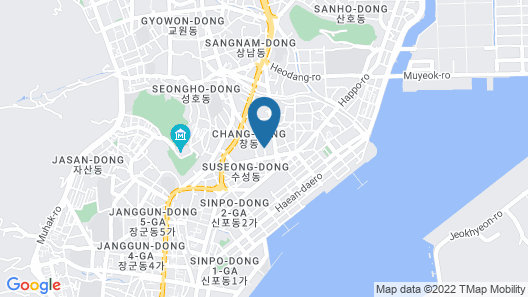 Masan - Guest House Rhizome - Hostel Map