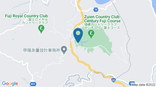Zuien Country Club Century Fuji Course Map