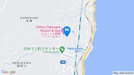 Hilton Odawara Resort & Spa Map