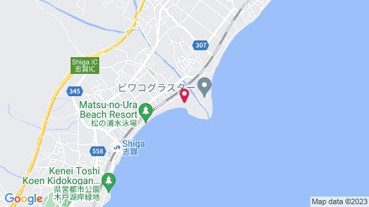 Biwako Mastunoura Bettei Map