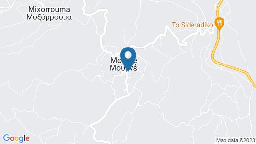 Villa Kazani at Mourne Near Spili Map