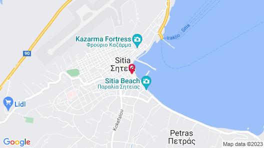 Itanos Map