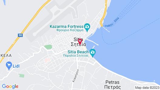 Hotel Krystal Map