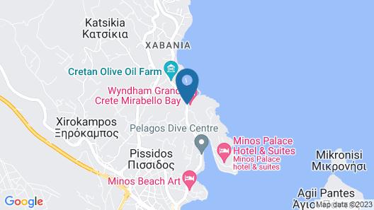 Wyndham Grand Crete Mirabello Bay Map