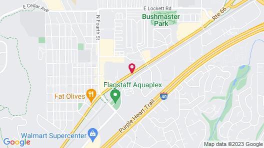 Pinecrest Inn & Suites Map