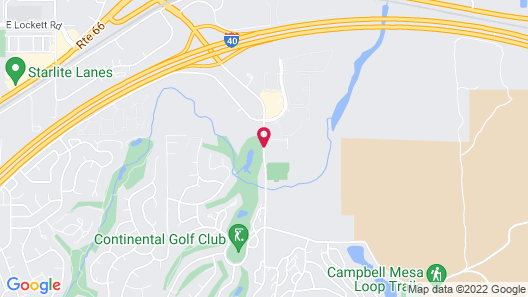 Sonesta ES Suites Flagstaff Map