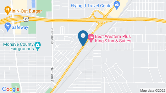 Best Western Plus A Wayfarer's Inn And Suites Map