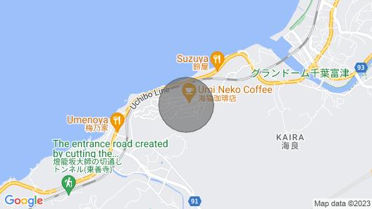 Located in a Corner of a Villa Area on a Hill Faci / Futtsu Chiba Map