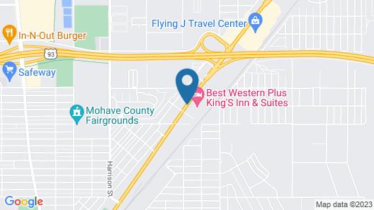 Best Western Plus King's Inn & Suites Map