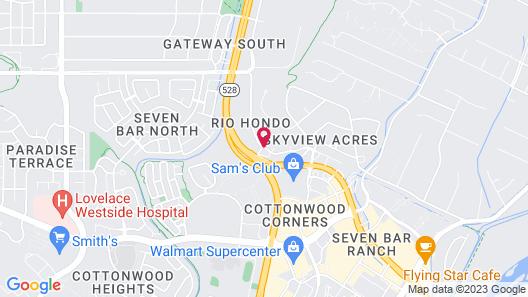 Extended Stay America - Albuquerque - Rio Rancho Map