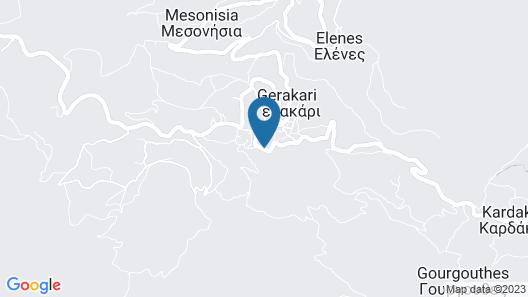 Alexander Gerakari Hotel Map