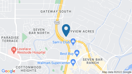 Extended Stay America Suites Albuquerque Rio Rancho Map