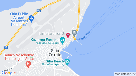 Porto Kaza Map