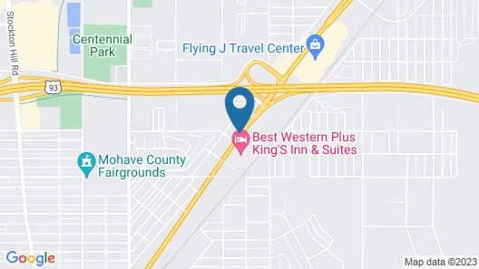 Holiday Inn Express Hotel & Suites Kingman, an IHG Hotel Map