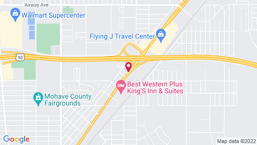 SpringHill Suites by Marriott Kingman Route 66 Map