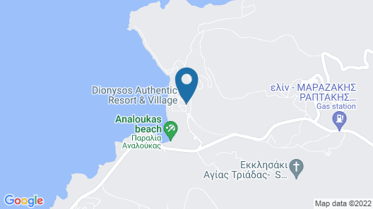 Dionysos Authentic Resort & Village Map