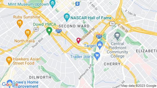 Oakwood at Presley Uptown Map