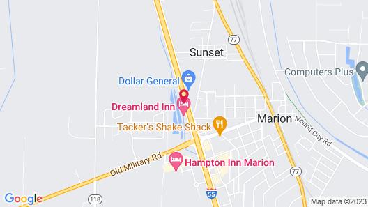 Journey Inn Map