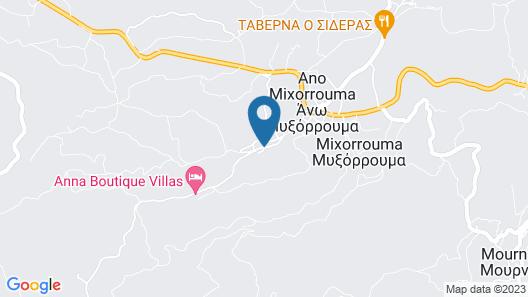 Anna Boutique Villas Map