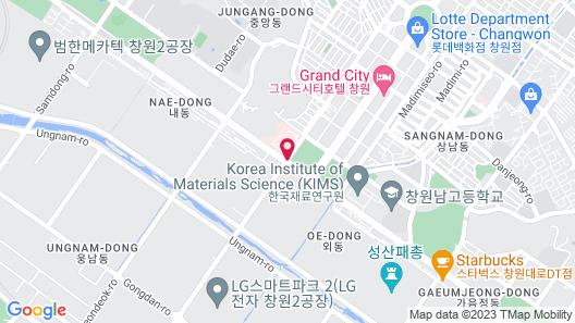 ChangWon Hotel Map