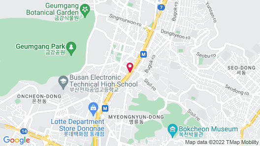 Hotel OZ Oncheonjang Map