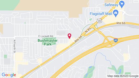 Days Inn & Suites by Wyndham East Flagstaff Map