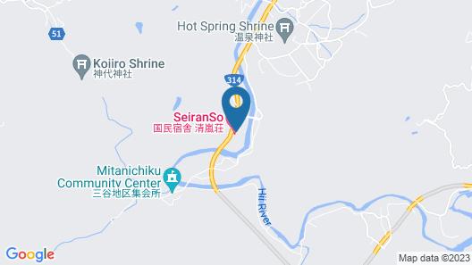 Izumo Yumuraonsen Seiranso Map