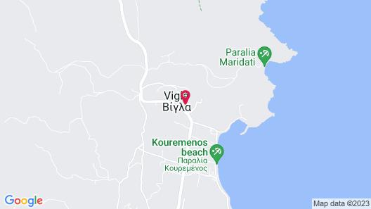 Castri Village Hotel Map