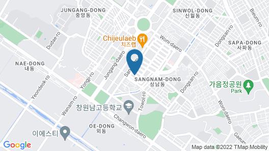 Best Louis Hamilton Hotel Changwon Map