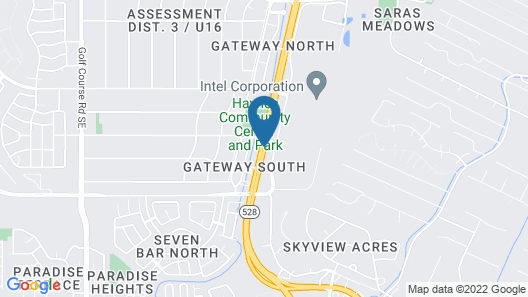 Extended Stay America Suites Albuquerque Rio Rancho Blvd Map