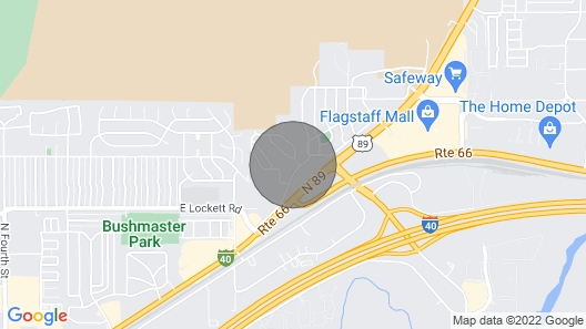 Big Backyard! Single Level! In Town! Pet Friendly! Map