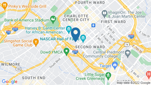 Home2 Suites by Hilton Charlotte Uptown, NC Map