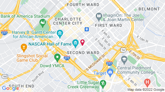 Embassy Suites by Hilton Charlotte Uptown Map
