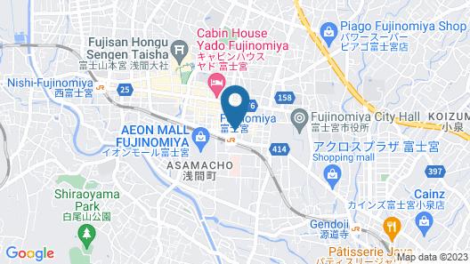 Fujinomiya Fujikyu Hotel Map
