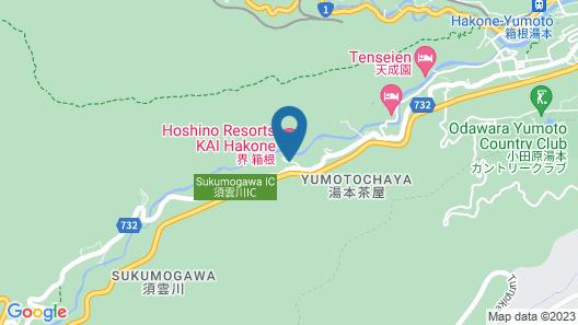 Hoshino Resorts KAI Hakone Map