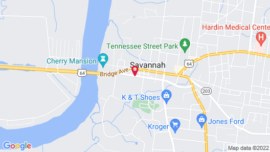 Savannah Motel Map