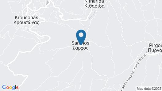 Pervola Petit Hotel Map