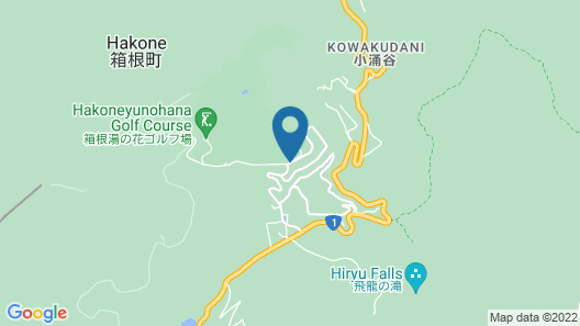 Hakone Yunohana Prince Hotel Map