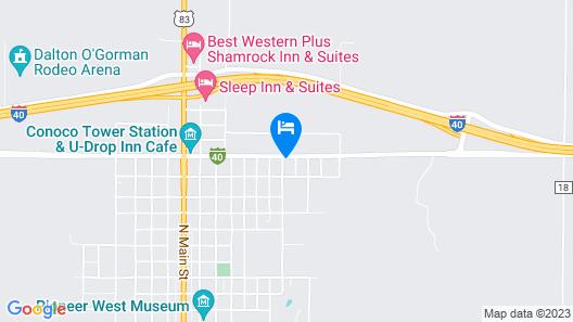 Route 66 Inn Map