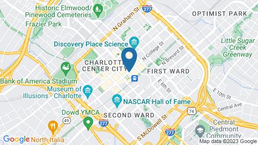 The Ritz-Carlton, Charlotte Map