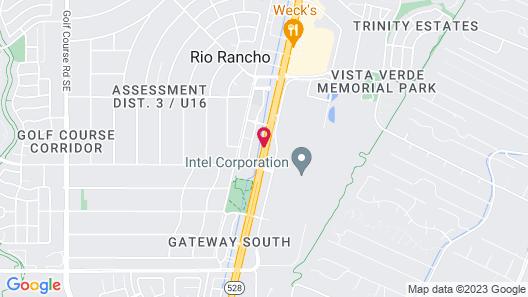 Hilton Garden Inn Albuquerque North/Rio Rancho Map